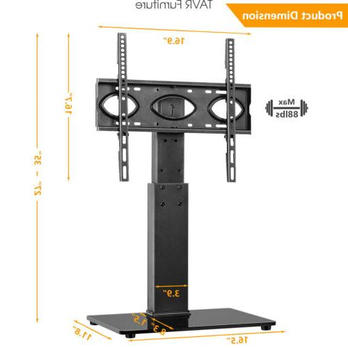 swivel tabletop tv stand tv base mount