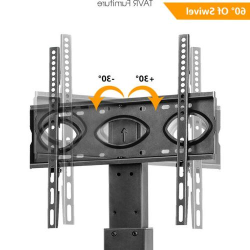 Swivel Tabletop TV Base Mount for 32-65 Flat/Curved Screen