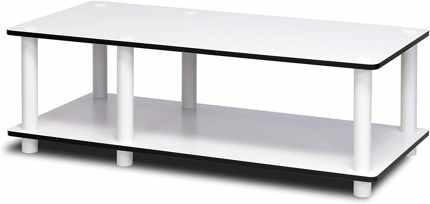 TV Stand 32 inch Entertainment Media Storage Shelf Table