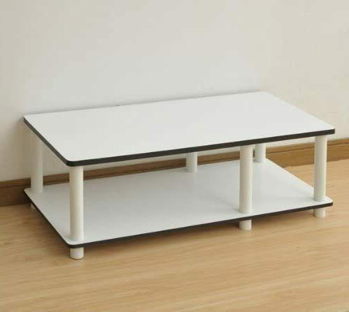 TV Stand 32 inch Entertainment Storage Shelf Table
