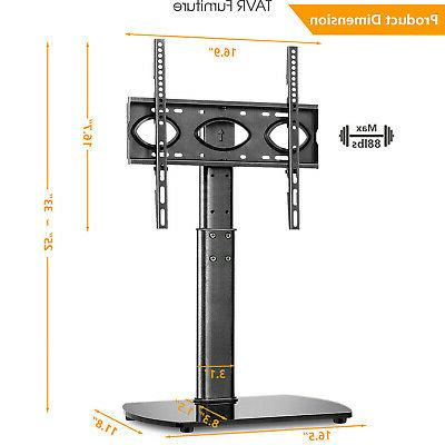 Swivel TV Stand Base Tabletop TV Stand with Mount for 32-65