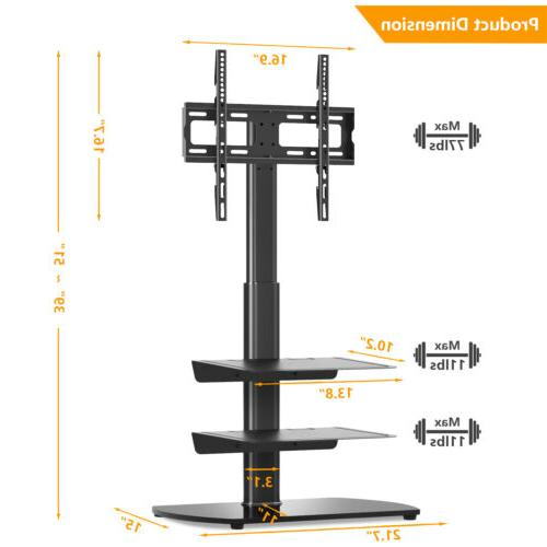 Universal Floor Stand with Curved Screens for inch