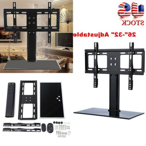 universal tv stand lcd hd table base