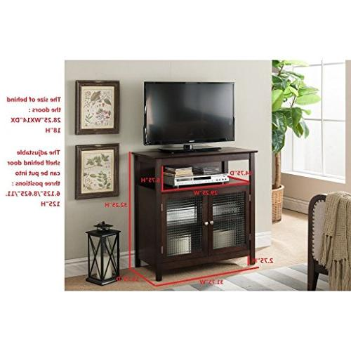 K and 32-inch Entertainment Center