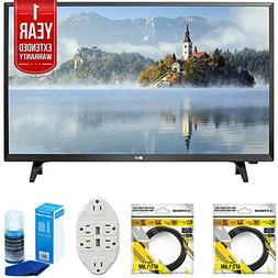 "LG LJ500B Series 32"" Class LED HDTV 2017 Model  with 2X 6ft"
