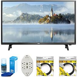 "LG LJ500B Series 32"" Class LED HDTV 2017 Model  with 2 x 6ft"