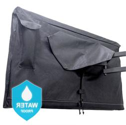 Outdoor TV Cover 32 inch with Zipper & Soft lining - Premium