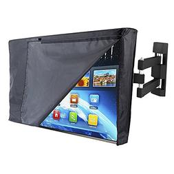 "PX Home Outdoor TV Cover 30"" - 32"" with Open Front Flap Desi"