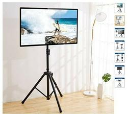 Portable TV Tripod Stand for 32-60 inch LCD LED Flat Screen