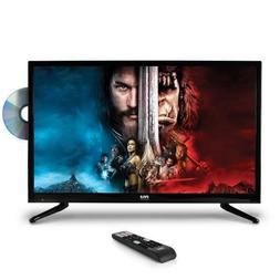 Pyle PTVDLED32 32'' LED TV - 1080p HDTV with Built-in DV