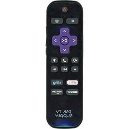 DSK TV Supply LC-RCRUS-17 Remote for Sharp TV's with Roku TV