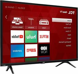 TCL Roku TV 32 Inch 720p Smart LED TV Compatible with Alexa