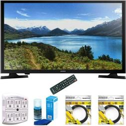 Samsung 32-Inch 720p LED TV 2015 Model  with 2x 6ft High Spe