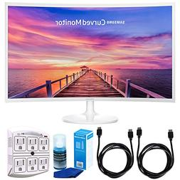 "Samsung CF391 Series 32"" 1920 x 1080 LED Curved Monitor w/ A"