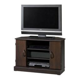 NEW Sauder Beginnings Adjustable Shelves Corner TV Stand, Ci
