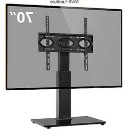 Swivel TV Stand Base with Adjustable Mount for 37-70 inch Fl