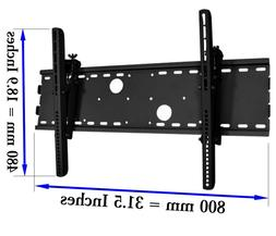 Tilting TV Wall Mount 165 lbs for 32 to 63 Inch Medium Large