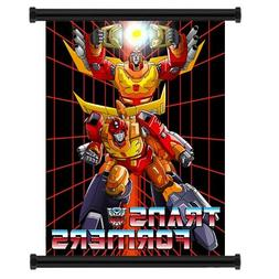 Transformers G1 Cartoon: Rodimus Prime Wall Scroll Poster  i