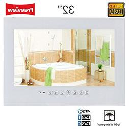 "Soulaca 32"" LCD TV for Bathroom Waterproof White Color T320F"