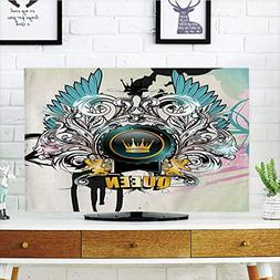 VANKINE LCD TV Cover Multi Style,Queen,Artistic Design Arms