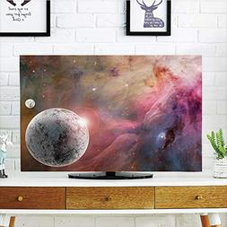 iPrint LCD TV Cover Multi Style,Outer Space Decor,Large Unkn