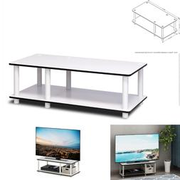 TV Stand for 32 inch Entertainment Center Media Storage Shel