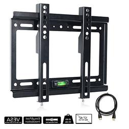 TV Wall Mount Bracket, Lumsing Slim Low Profile TV Mount for