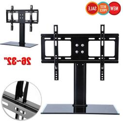 Universal Bracket TV Stand Replacement Tabletop TV Base Stan