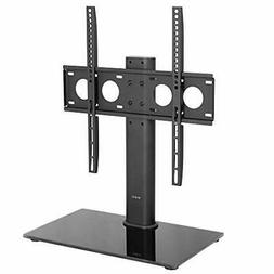Universal Economic LCD Flat Screen TV Table Top Stand w/Glas