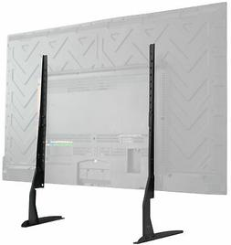 VIVO Universal LCD Flat Screen TV Table Top Stand   Base fit