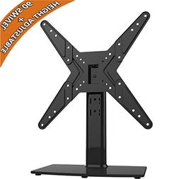 Hemudu Universal Swivel TV Stand/Base Table Top TV Stand for