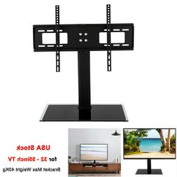 Universal Tabletop TV Stand with Swivel Mount for 32 To 65 i