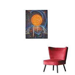 longbuyer Wall Paper Abstract Painting on The Theme Energy o